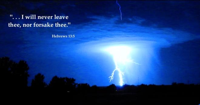 Storm Hebrews 13-5